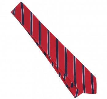 Red and Navy Blue Tie - Boston III