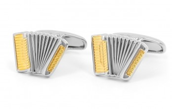 Accordion cufflinks - Saint-Petersburg