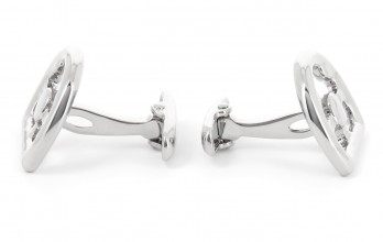 Steering wheel cufflinks - Bahreïn