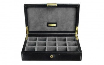 Cufflinks Case for 15 pairs