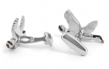 Duck cufflinks - Montmorency