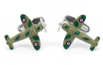 Airplane cufflinks - Alconbury