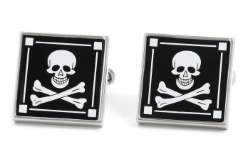 Skull cufflinks - Hispaniola