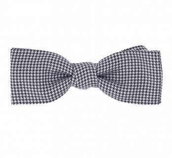 Bow Tie with Houndstooth Pattern - Millport IV