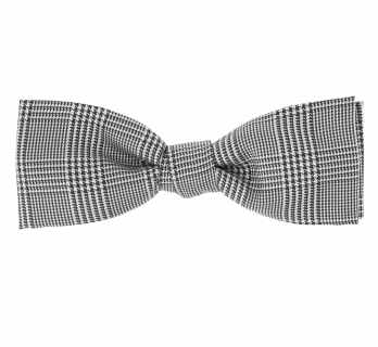 Black Prince of Wales Check Bow Tie - Barry