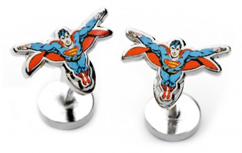 Superman cufflinks - Superman Action