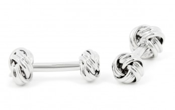 Sailing knot cufflinks - Georges V