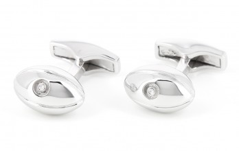 Rugby Sterling Silver cufflinks - Twickenham