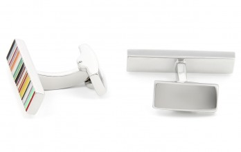 Rectangular cufflinks - Hyde Park II
