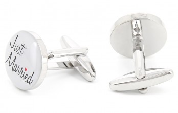 Just Married cufflinks - Just Married