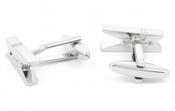 Clothes peg cufflinks - Laundry