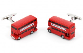 Bus cufflinks - London Bus