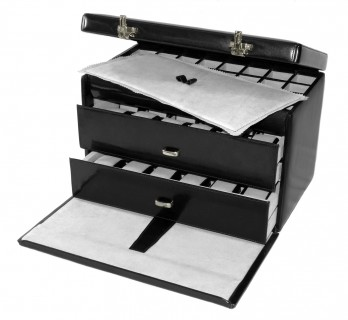 Luxury storage box for watches and cufflinks - FRA