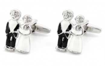 Wedding cufflinks - D-Day
