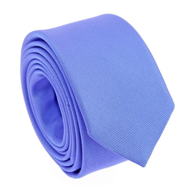Cornflower Blue Narrow Tie - Sienne