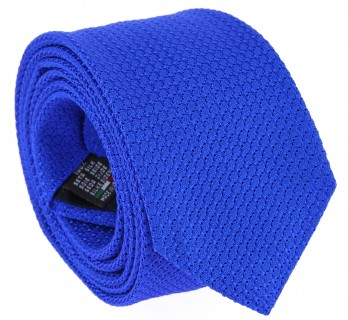 Electric Blue Grenadine Silk The Nines Tie - Grenadines III