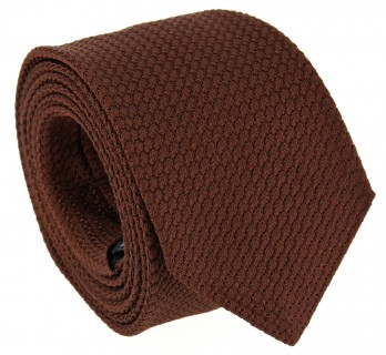 Light Brown Grenadine Silk The Nines Tie - Grenadines III