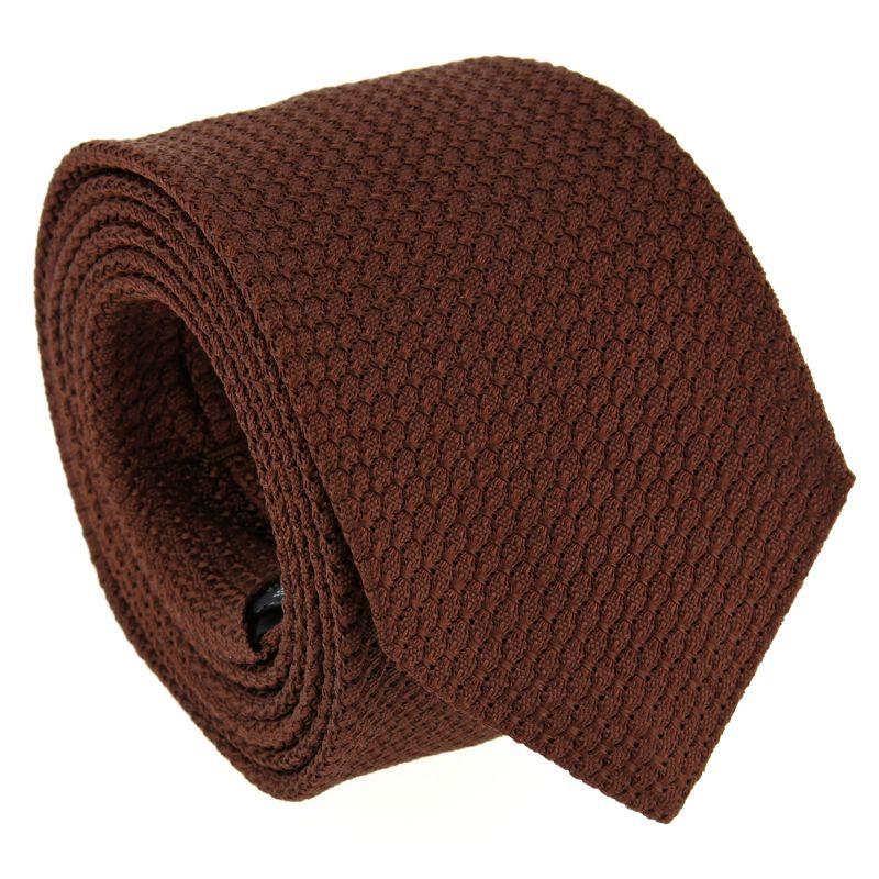 Brown Grenadine Silk The Nines Tie - Grenadines III