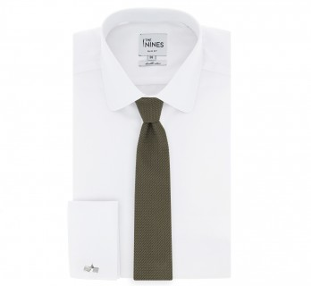 Olive Grenadine Silk The Nines Tie - Grenadines III