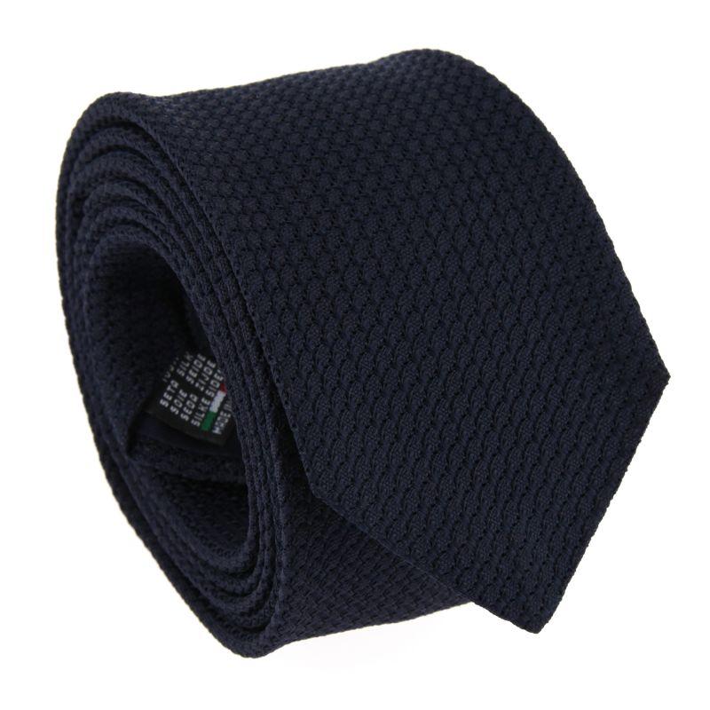 Dark Blue Grenadine Silk The Nines Tie - Grenadines III
