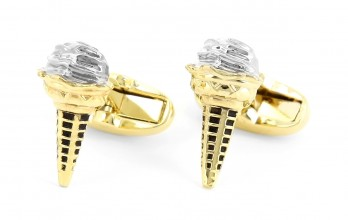 Paul Smith cufflinks - Ice Cone