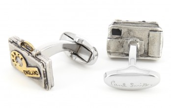 Paul Smith cufflinks - Camera and Suitcase