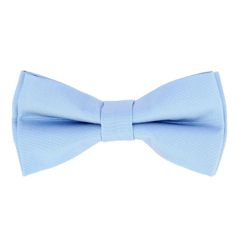 Light blue bow tie clipart