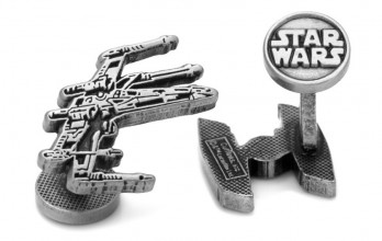 Star Wars cufflinks - X-Wing & Tie-Fighter