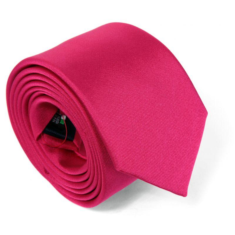 Fuchsia Pink Tie - Milan II