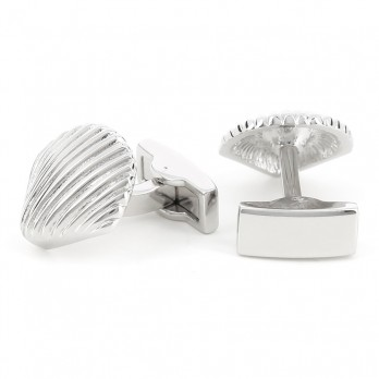 Shell cufflinks - Saint-Brieuc