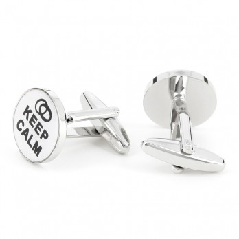 Love cufflinks - Keep Calm I Love You