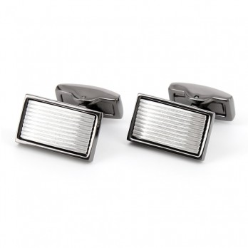 Rectangular cufflinks - Skara