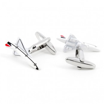 Airplane cufflinks - Concorde
