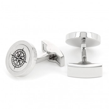 Cardinal direction cufflinks - Belle-Ile-en-Mer