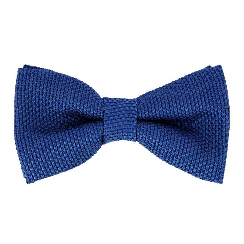 Blue Grenadine Silk The Nines Bow Tie - Grenadines IV