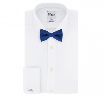 Blue Grenadine Silk The Nines Bow Tie - Grenadines IV