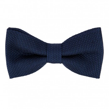 Night Blue Grenadine Silk The Nines Bow Tie - Grenadines IV