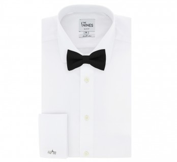 Black Grenadine Silk The Nines Bow Tie - Grenadines IV
