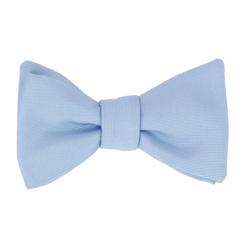Light Pink Silk Bow Tie - Milan II