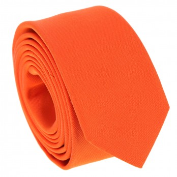 Orange Narrow Tie - Sienne
