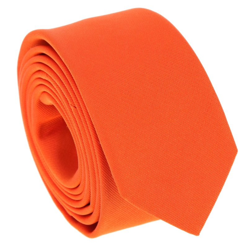 Coral Narrow Tie - Sienne