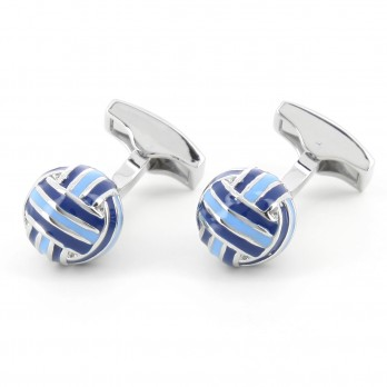 Blue sphere cufflinks - Cambon