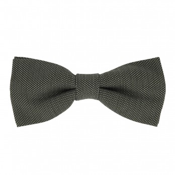 Dark Green Bow Tie with Pinhead Pattern - Breteuil II