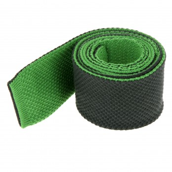 Dark Green Knitted Cotton The Nines Reversible Tie - Avola