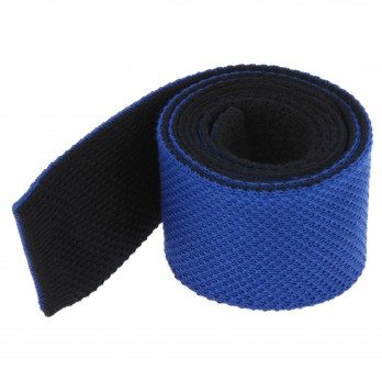 Blue Knitted Cotton The Nines Reversible Tie - Avola