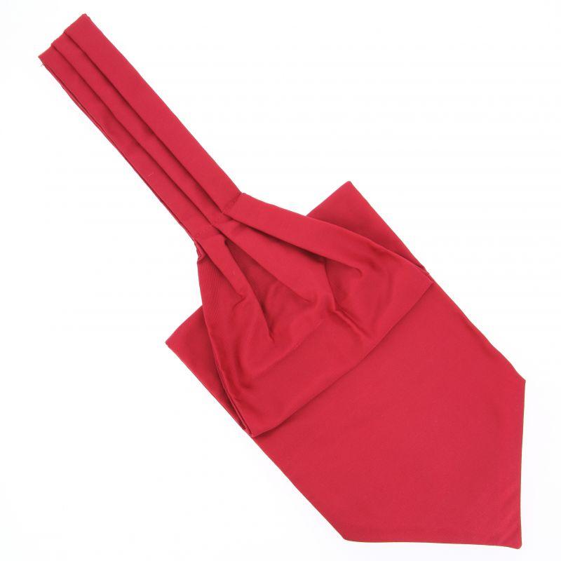 English Red Ascot Tie - Ascot II