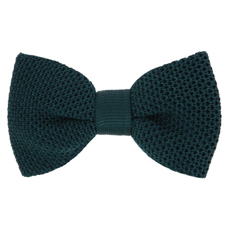 Forestgreen knitted Bowtie - Monza