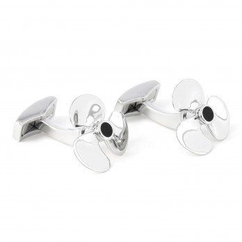 Functional propeller cufflinks - Brisbane II