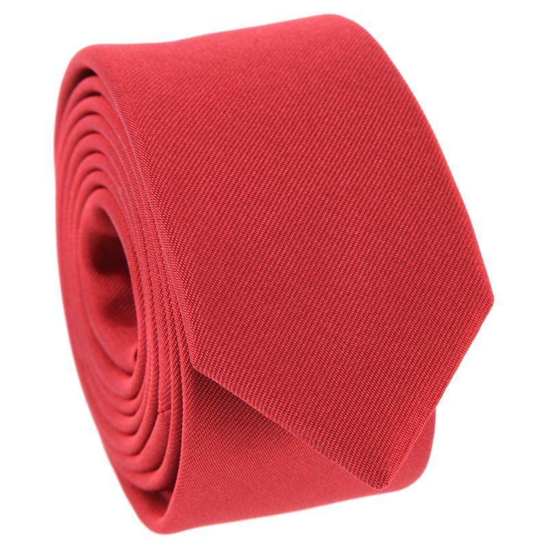 Red Narrow Tie - Sienne