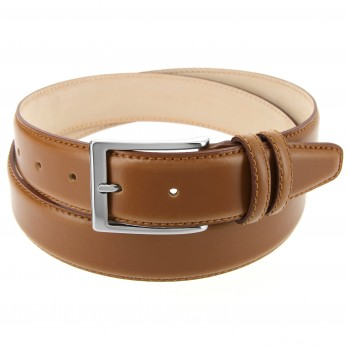 Camel leather belt - Daniel